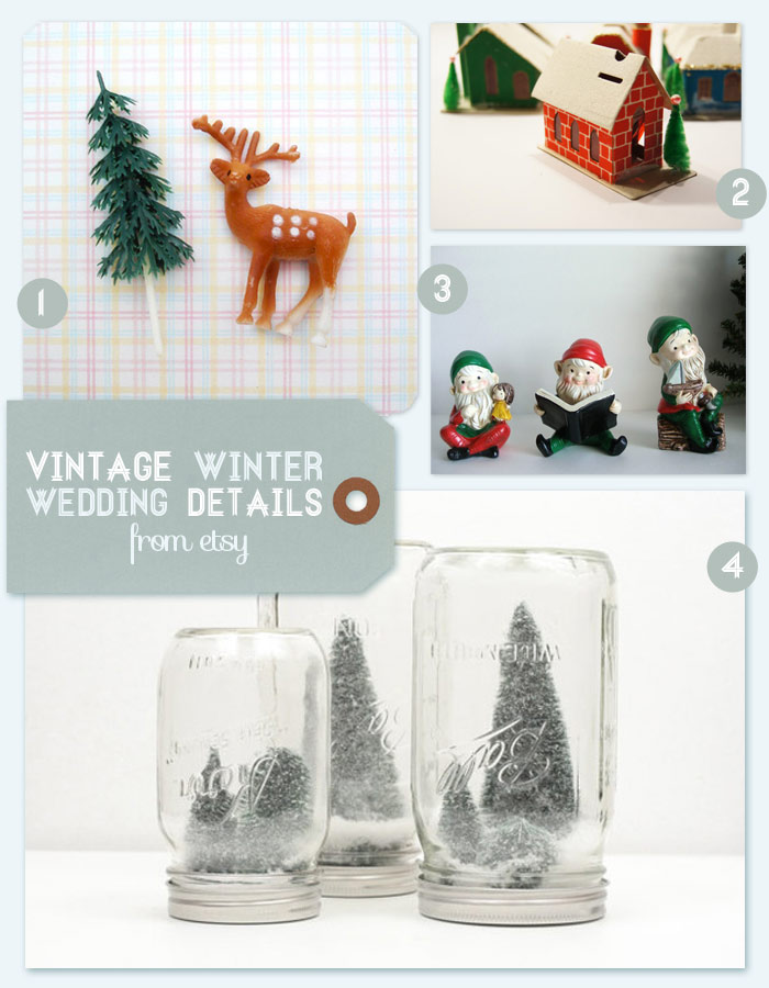 Surprising Etsy Finds A Vintage Winter Wedding Oh What Love Studios Download Free Architecture Designs Remcamadebymaigaardcom
