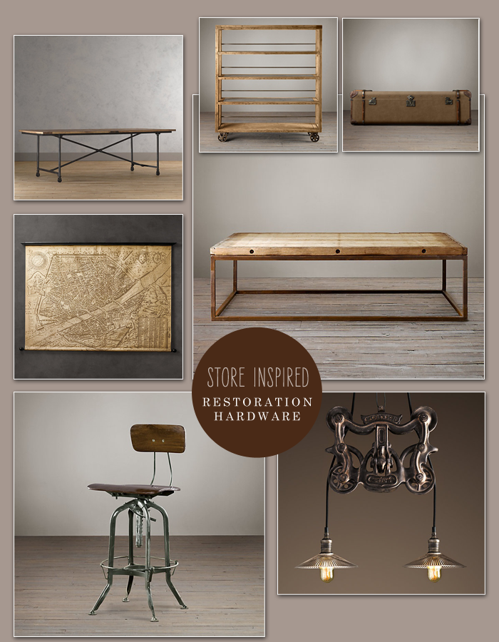 Store Inspired Restoration Hardware Oh What Love