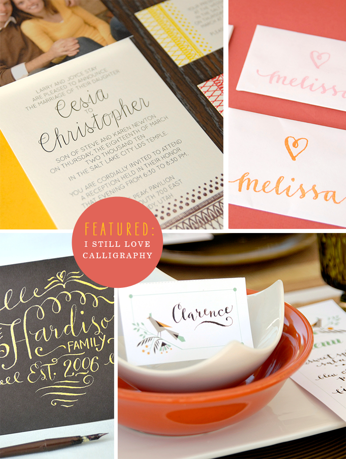 Featured I Still Love Calligraphy Course From Melissa