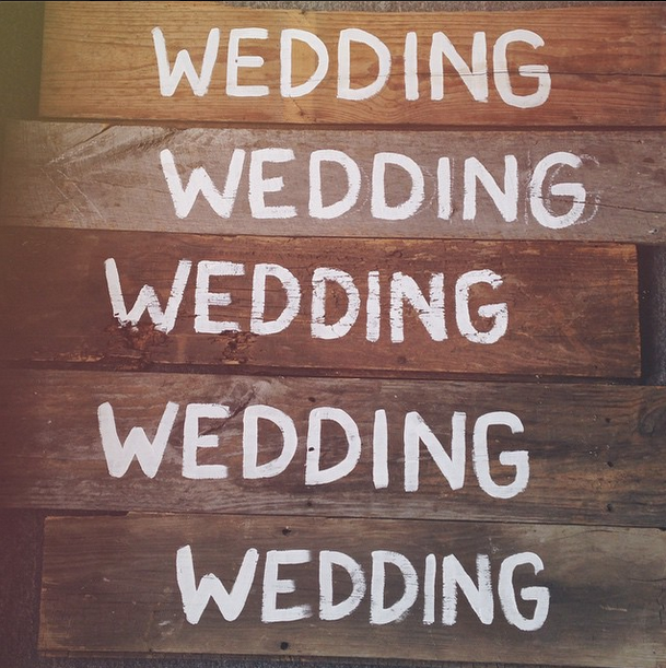 OWL Wedding Signs