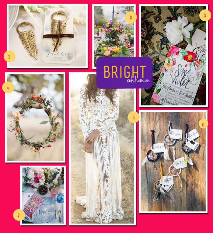 Bright-Bohemian-Wedding