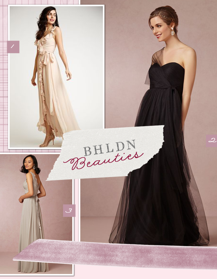 Bridesmaid Bliss Gowns From Bhldn Oh What Love Studios