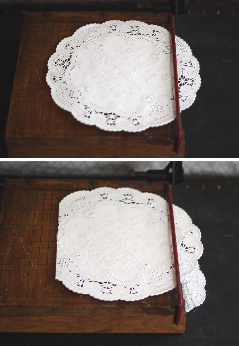 Oh What Love Diy A Lace Doily Wedding Invitation Sleeve Oh What