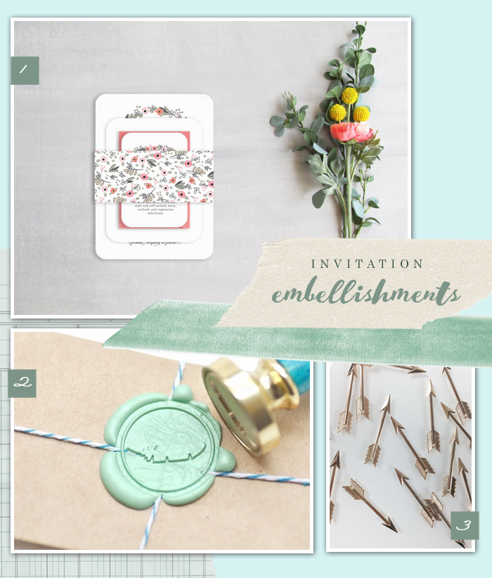 6 Fun Embellishments For Your Invitations Oh What Love Studios