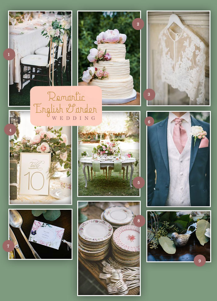 English Garden Wedding | Oh What Love, Quad City Iowa Wedding Blog