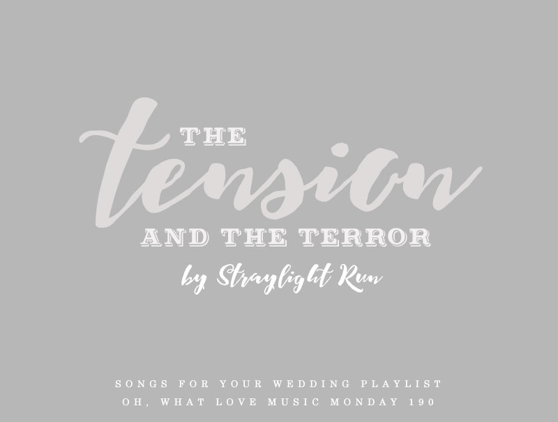 The Tension and the Terror | Oh, What Love Music Monday | Quad City Iowa Wedding Blog