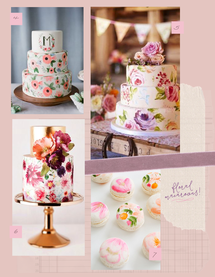 Oh What Love Floral Cake Quad City Wedding Ideas