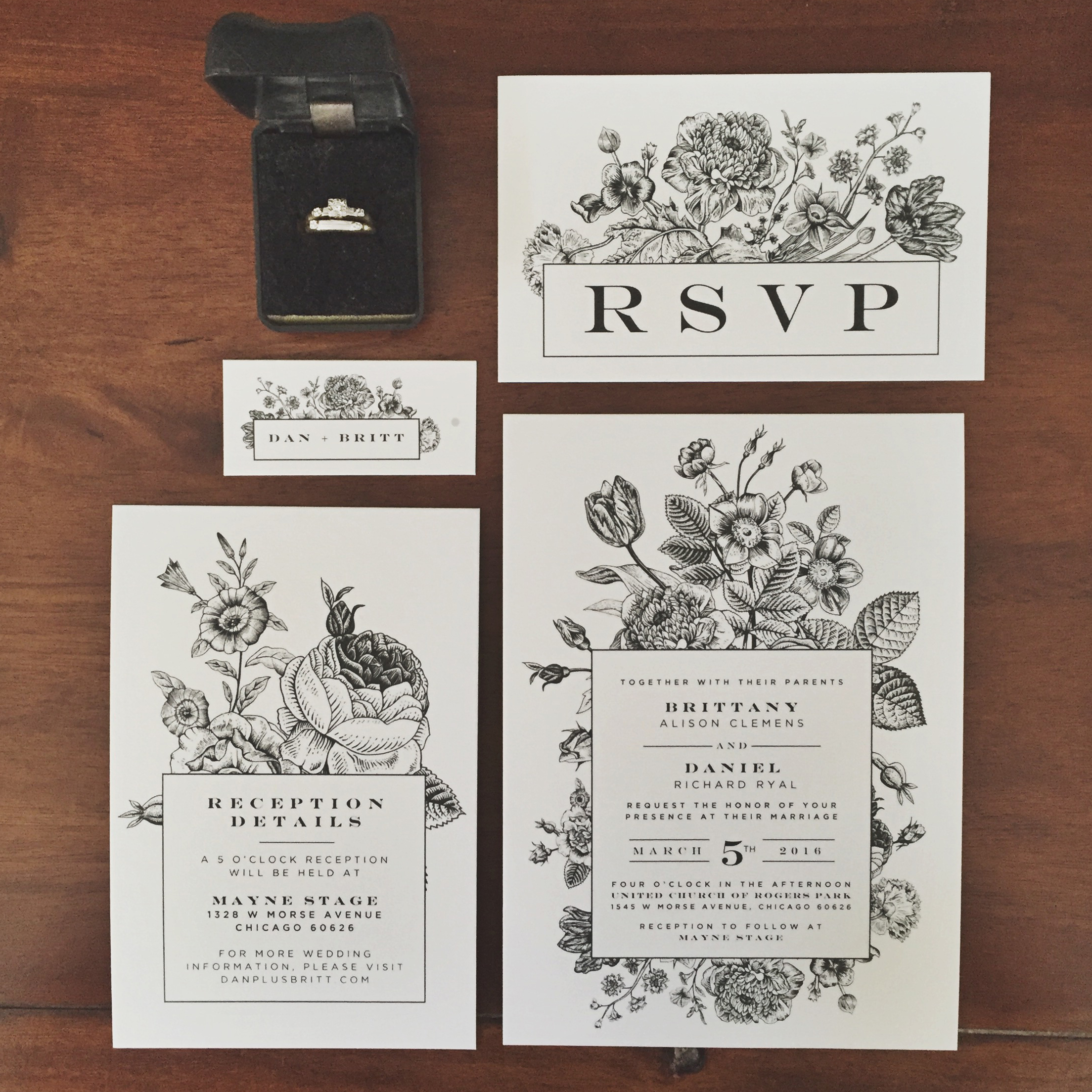 Invitation + Paper Goods Design | Oh, What Love Studios