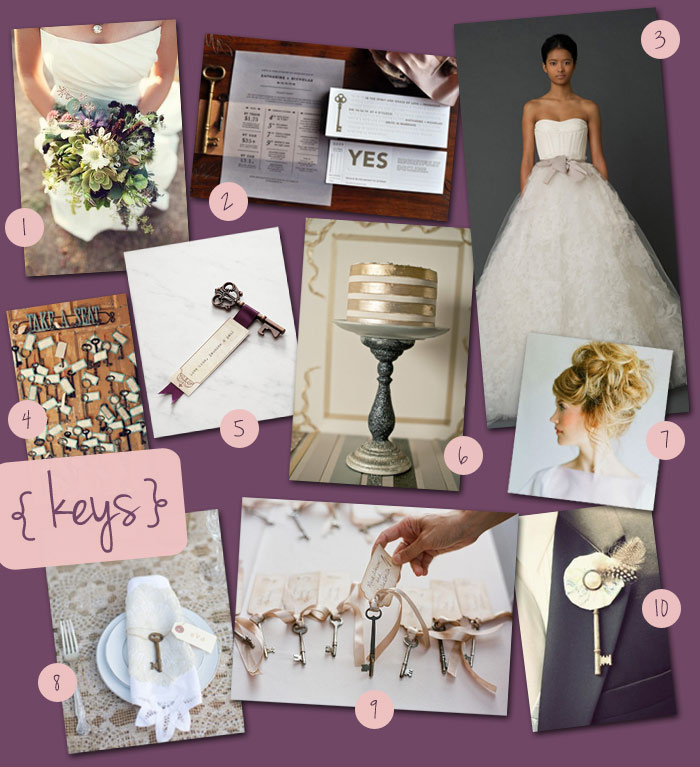 Theme Thursday: Vintage Keys | Oh, What Love Studios Blog | Quad ...